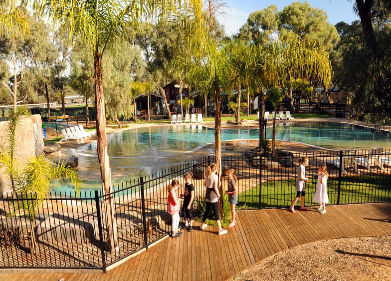 BIG4 Renmark Riverfront Caravan Park - Accommodation Port Hedland