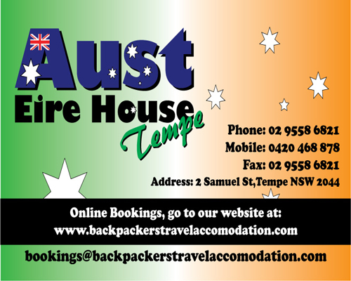 Aust Eire House Tempe - Accommodation Port Hedland