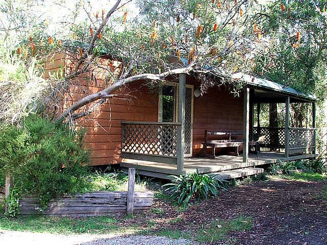 Jervis Bay Cabins  Hidden Creek Real Camping - Accommodation Port Hedland