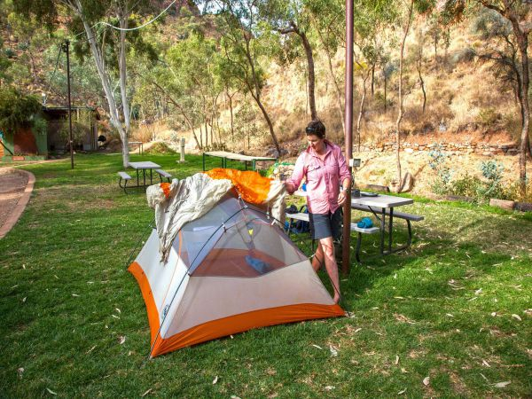Standley Chasm Angkerle Camping - Accommodation Port Hedland