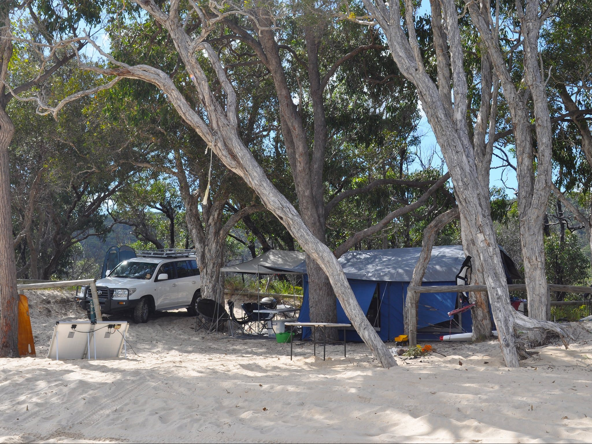 Moreton Island National Park and Recreation Area camping - Accommodation Port Hedland
