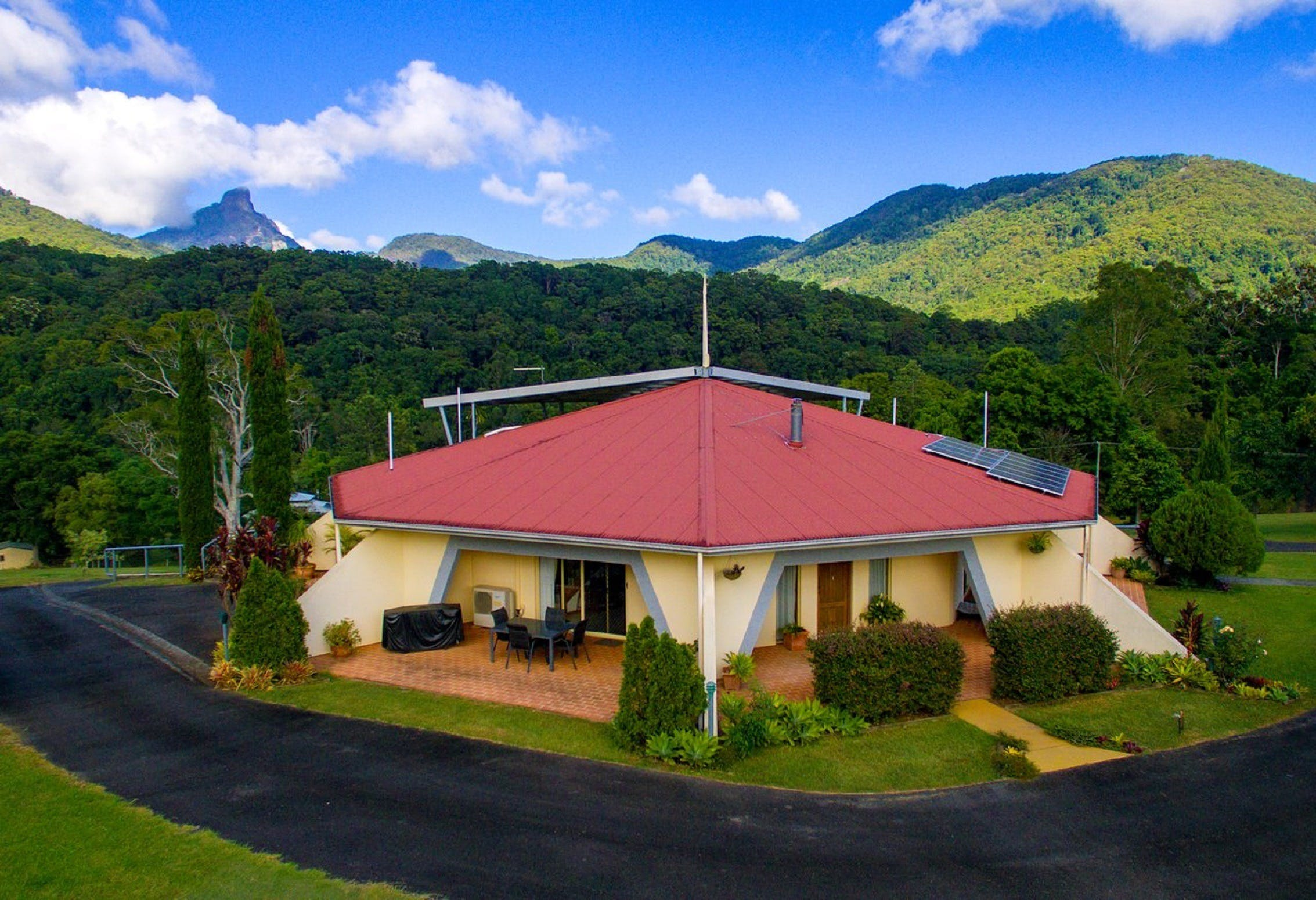 A View of Mount Warning Bed and Breakfast - Accommodation Port Hedland