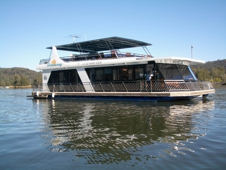 Able Hawkesbury River Houseboats - Accommodation Port Hedland