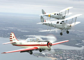 Vintage Tiger Moth Joy Flights - Accommodation Port Hedland