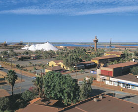 Town Observation Tower - Accommodation Port Hedland