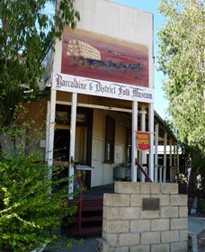 Barcaldine and District Museum - Accommodation Port Hedland