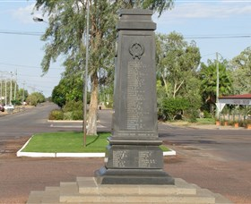 Winton War Memorial - Accommodation Port Hedland