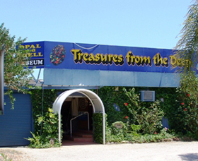 Treasures from the Deep - Opal and Shell Museum - Accommodation Port Hedland