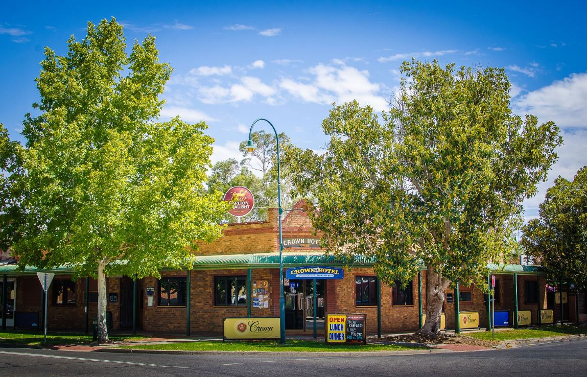 Crown Hotel Wentworth - Accommodation Port Hedland