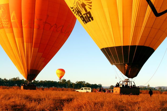 Hot Air Balloon Scenic Rim - Accommodation Port Hedland