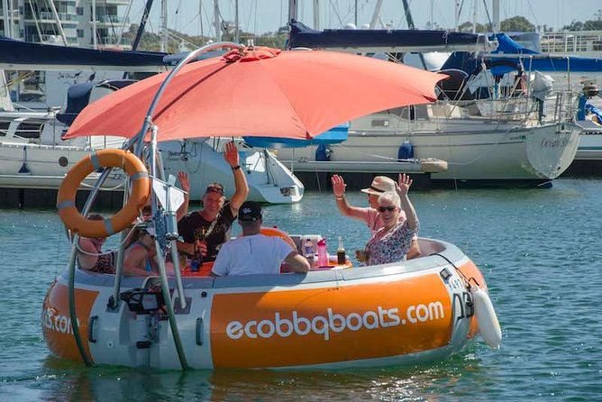 Self-Drive BBQ Boat Hire Mandurah - Group of 7 - 10 people - Accommodation Port Hedland