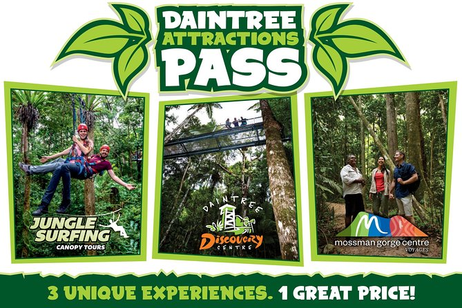 Daintree Atttractions Pass The Best of the Daintree in a Day - Accommodation Port Hedland