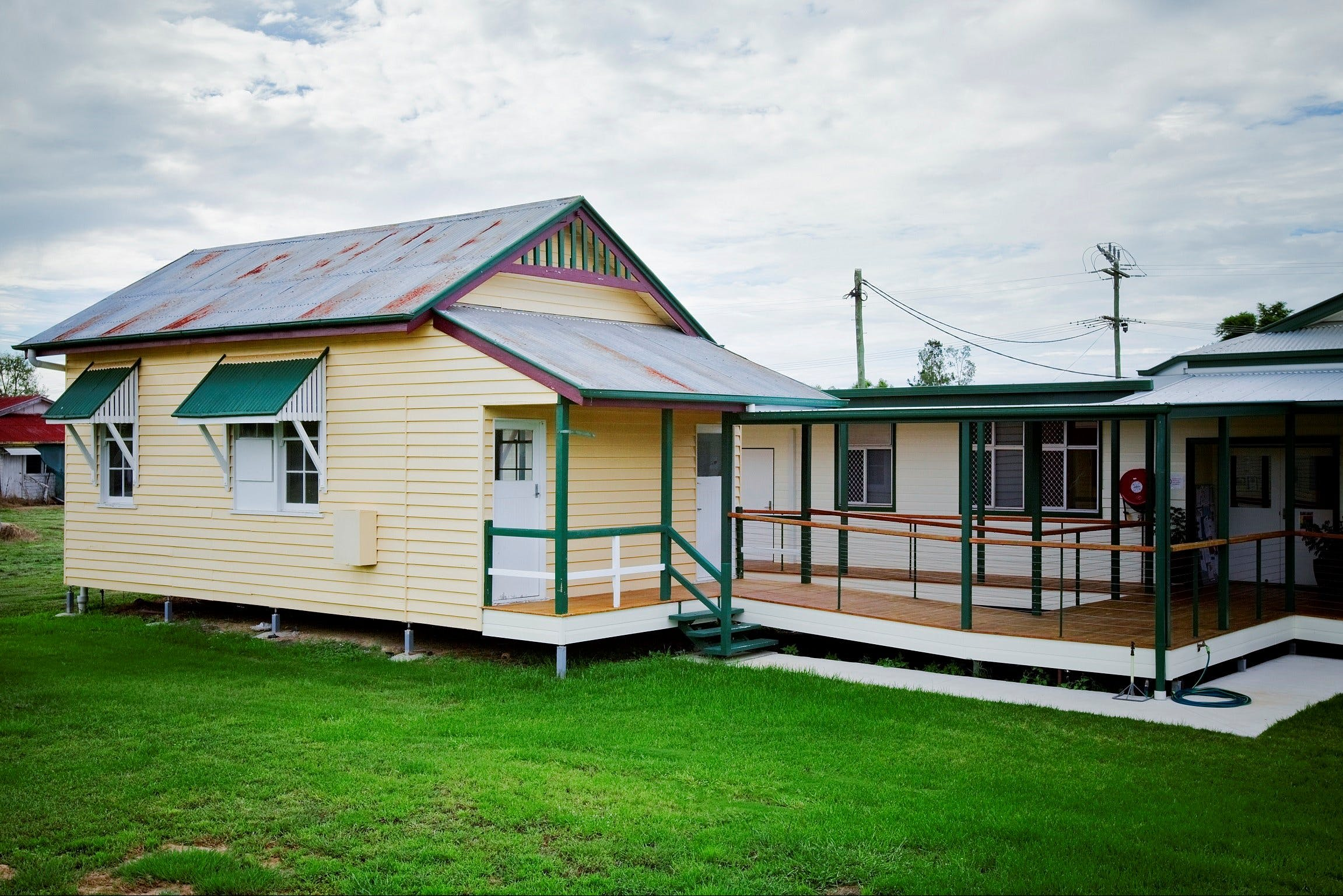The Old Injune Courthouse and Museum - Accommodation Port Hedland