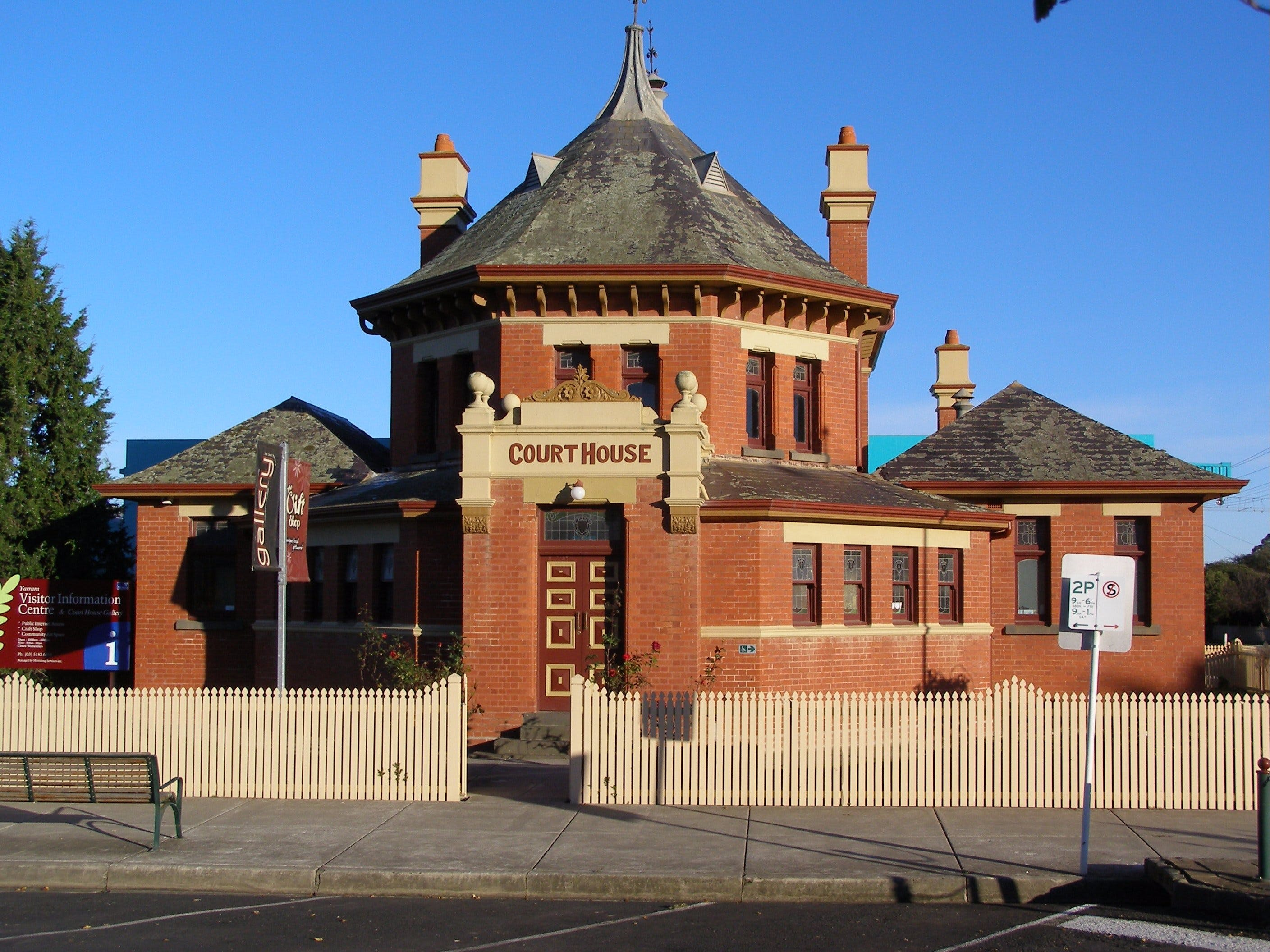 Yarram Courthouse Gallery - Accommodation Port Hedland