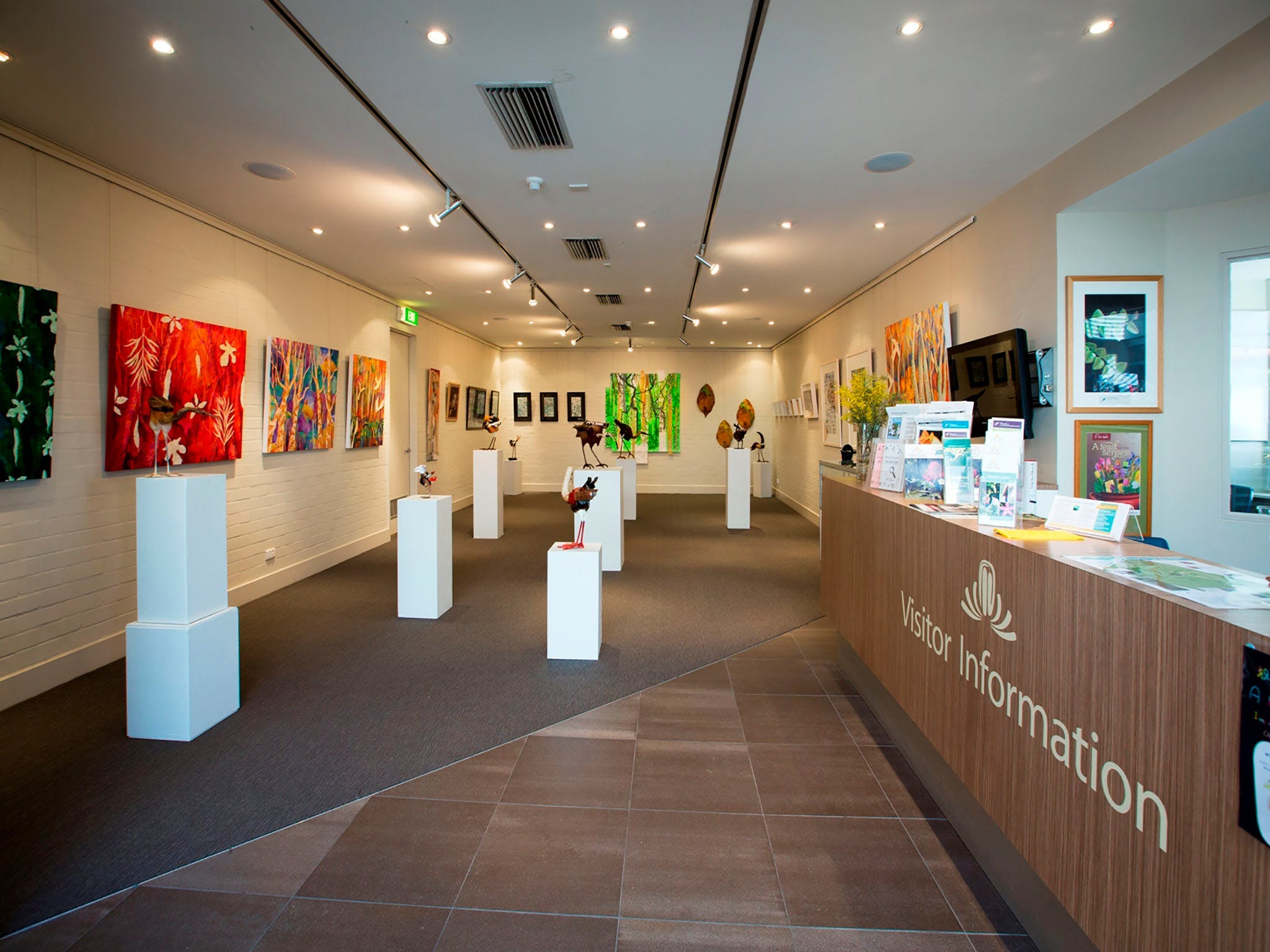 Australian National Botanic Gardens Visitor Centre Gallery - Accommodation Port Hedland