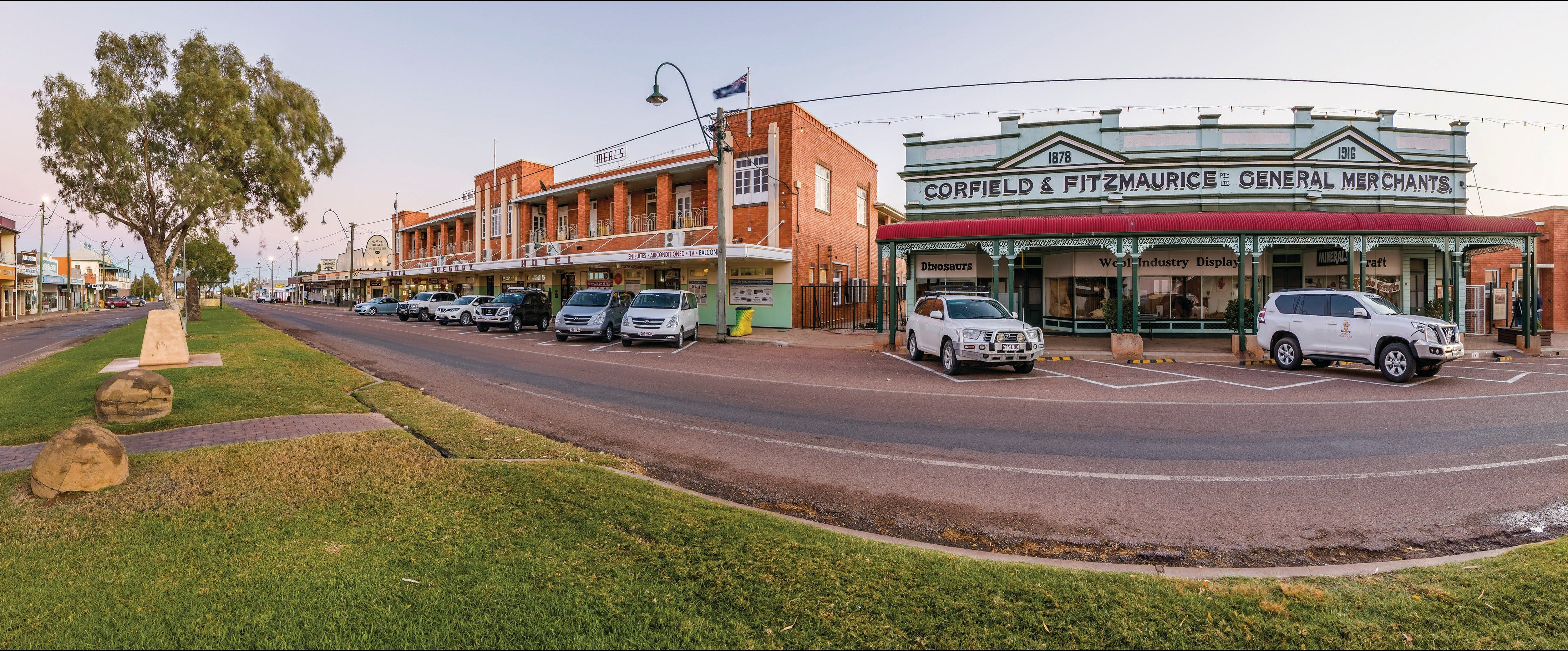 Corfield and Fitzmaurice Building - Accommodation Port Hedland