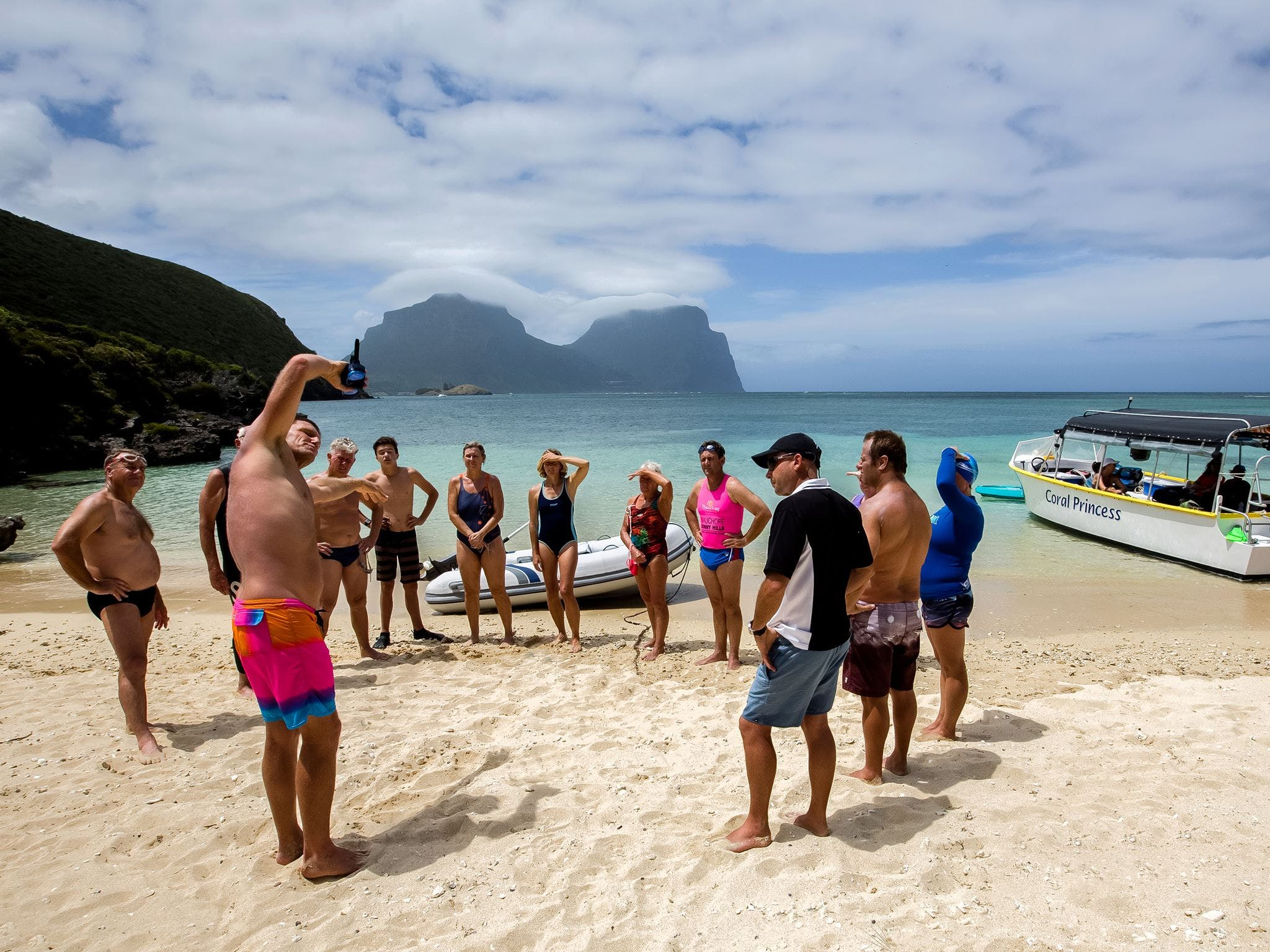 Ocean Swim Week with Trevor Hendy Pinetrees Lord Howe Island - Accommodation Port Hedland