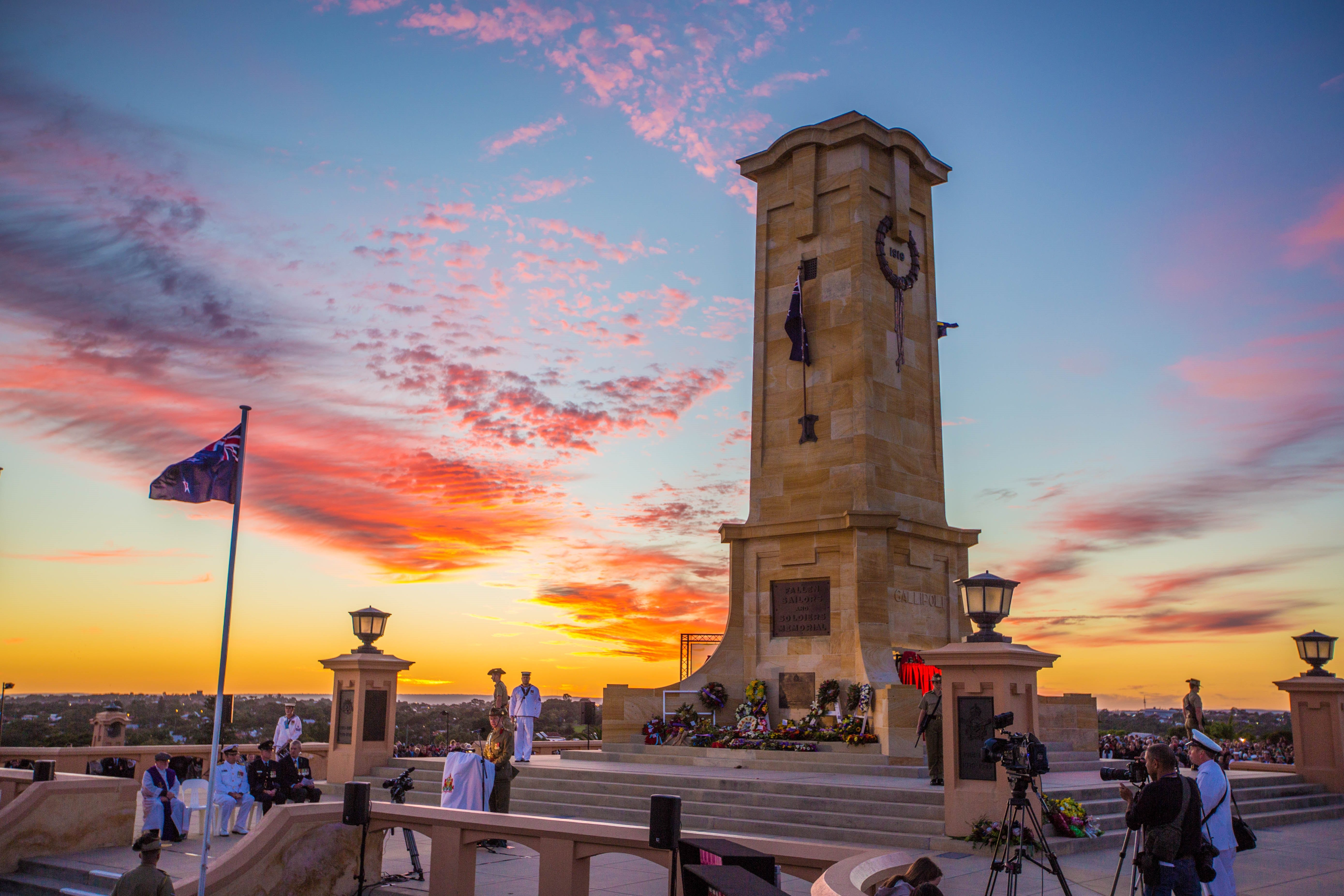 Anzac Day - Fremantle - Accommodation Port Hedland