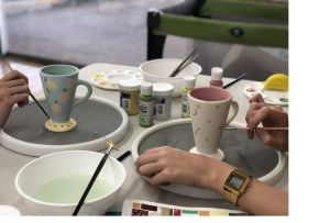 Ceramic Painting Class - Accommodation Port Hedland