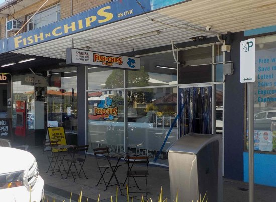 Fish N Chips On Civic - Accommodation Port Hedland