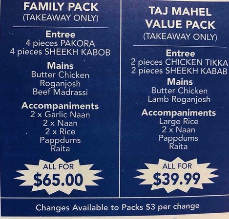Taj Mahal Indian Restaurant - Accommodation Port Hedland