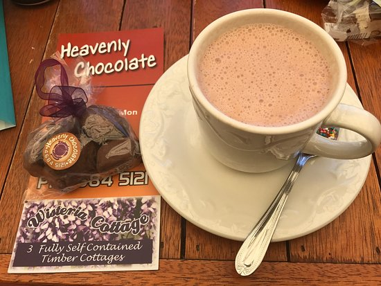 Stanthorpe's Heavenly Chocolate at Wisteria Cottage - Accommodation Port Hedland